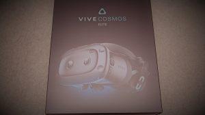 初代HTC VIVEからCOSMOS ELITEにアップグレードしてみた!開封レビュー