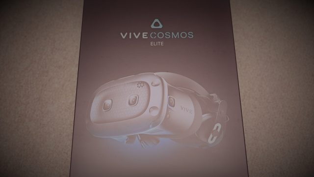 htc vive cosmos elite 開封レビュー
