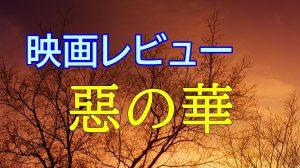 Noriの映画レビュー【惡の華】 途中まで面白かったが後半グダグダ感が・・・!?