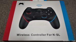 【任天堂 Switch】格安の中華Bluetoothコントローラーは使い物になるのか?開封レビュー