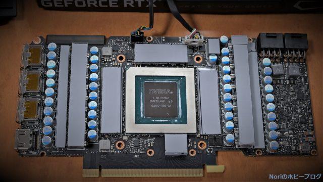 VRAMに熱伝導率12.8Wのサーマルパッド貼ってみた!玄人志向 RTX3090は冷えるのか?!